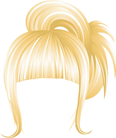 Updo clipart svg freeuse download NYC Casual Updo Blonde | Gallery Yopriceville - High ... svg freeuse download