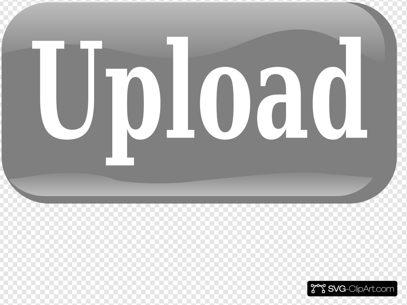Upload button clipart svg freeuse Upload Button Clip art, Icon and SVG - SVG Clipart svg freeuse