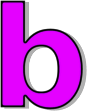 Upper and lower case b letter clipart jpg free download The lowercase letter b clipart - ClipartFest jpg free download