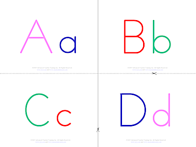 Upper and lower case b letter clipart svg royalty free Alphabet - upper and lower case - b&w FREE ESL Flashcards svg royalty free