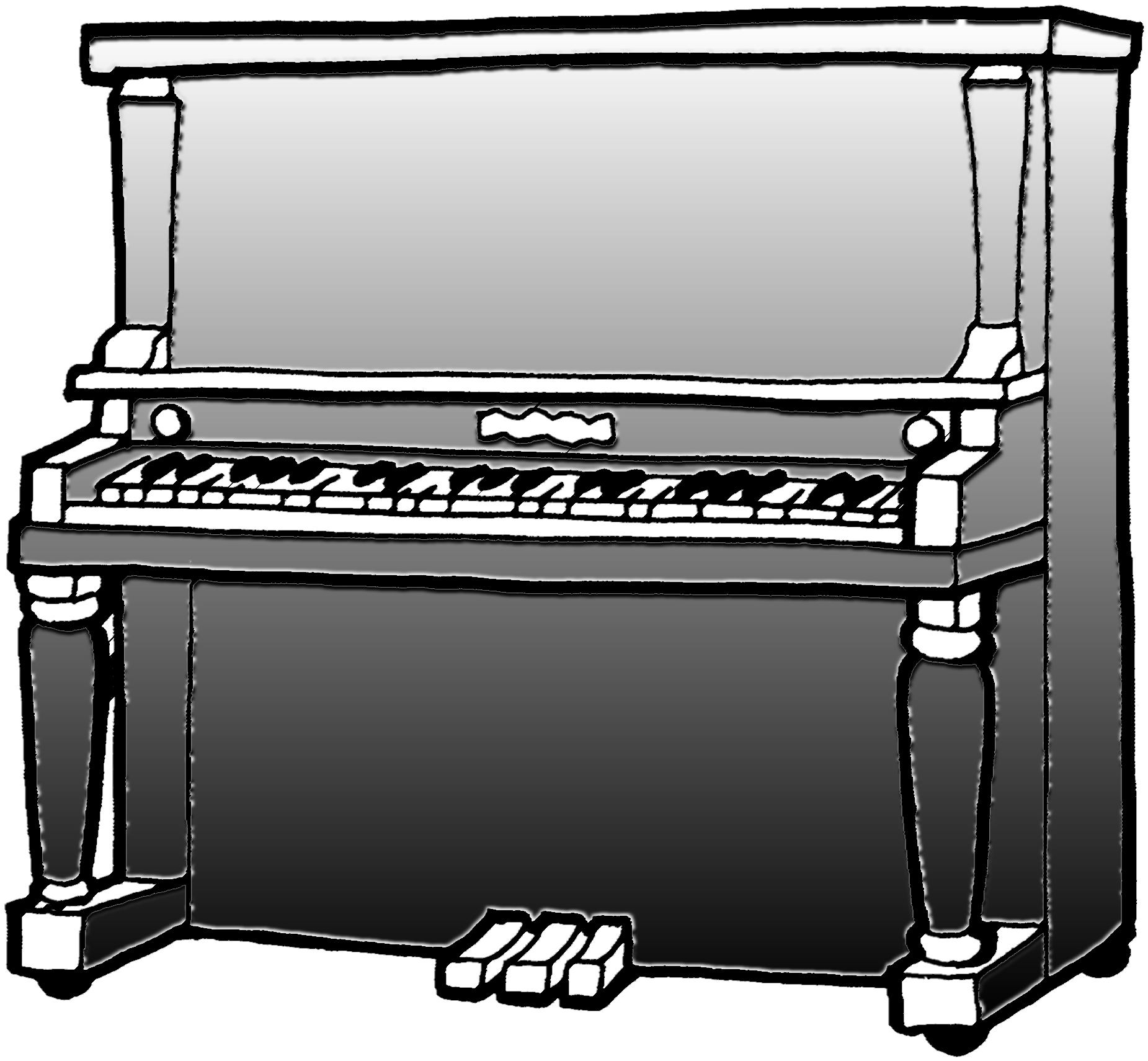 Upright piano clipart clip art download Upright Piano Sketch at PaintingValley.com   Explore ... clip art download