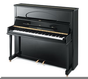 Upright piano clipart png royalty free stock Upright Piano Clipart   Free Images at Clker.com - vector ... png royalty free stock