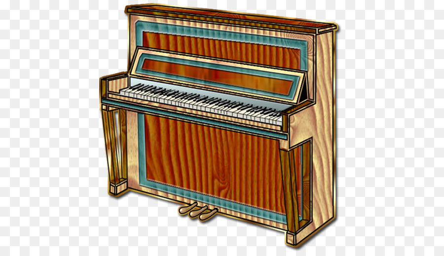 Upright piano clipart png library Piano Cartoon clipart - Piano, Keyboard, Technology ... png library