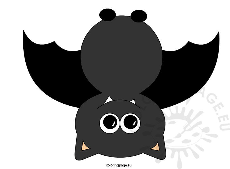 Upside down bat clipart png library library Upside Down Bat Clip Art png library library