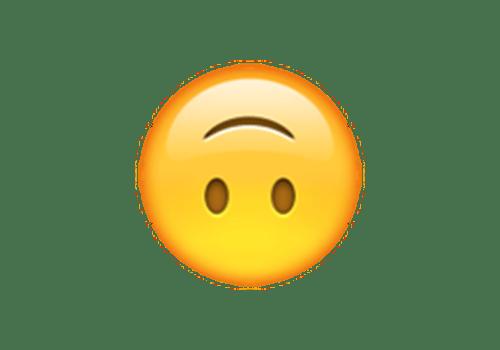 Upside down smiley emoji clipart svg free download Emoji Analysis: Upside-Down Smiley svg free download