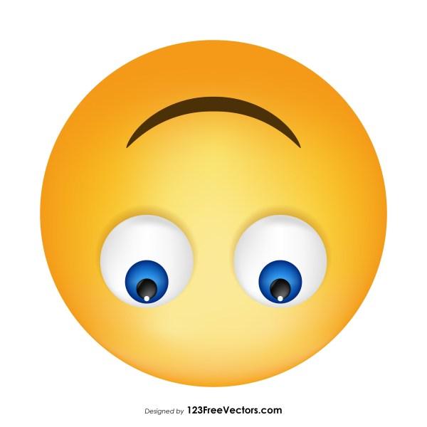Upside down smiley emoji clipart banner free download Upside-Down Face Emoji Icons banner free download