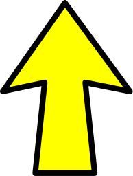 Upward arrow clip art banner library Expandinf Upward Arrows Clipart banner library