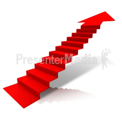 Upward arrow clip art png free stock Steps Climbing Up Arrow - Signs and Symbols - Great Clipart for ... png free stock