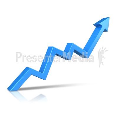 Upward arrow clip art vector free stock Arrow Climbing Upward - Presentation Clipart - Great Clipart for ... vector free stock