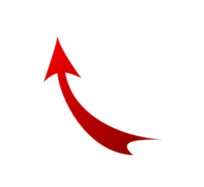 Upward arrow clip art jpg transparent stock Upward Arrow Clip Art at Clker.com - vector clip art online ... jpg transparent stock