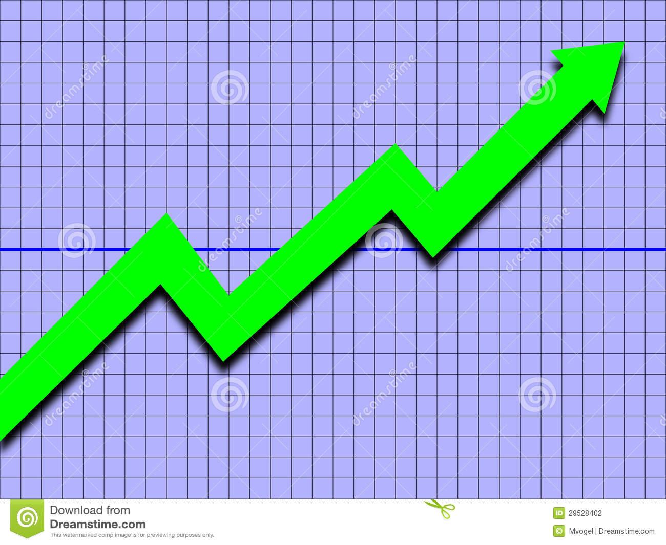Upward trend clipart image black and white Upward Trend Stock Photography - Image: 29528402 image black and white