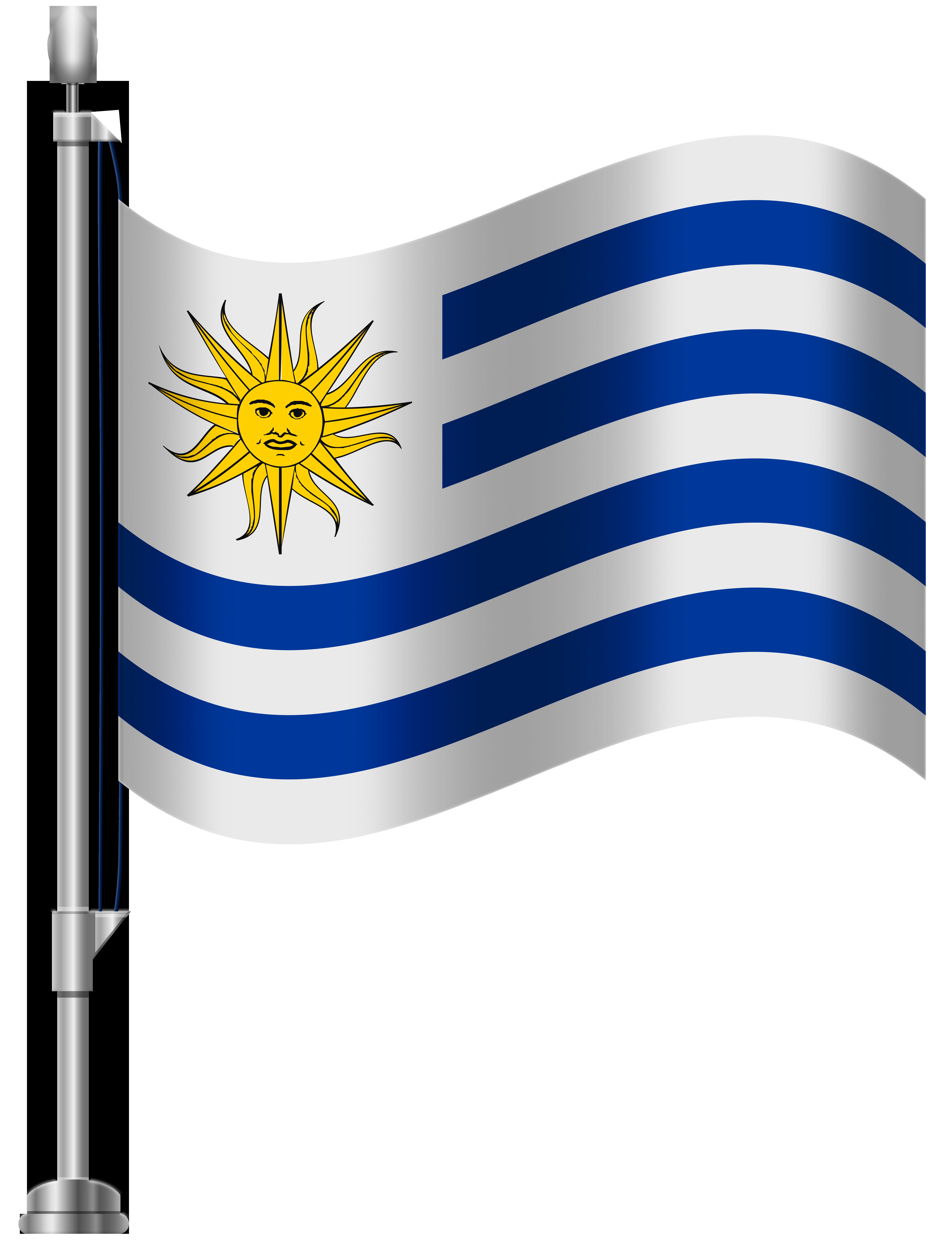 Uruguay images clipart clip art download Uruguay Flag PNG Clip Art - Best WEB Clipart clip art download
