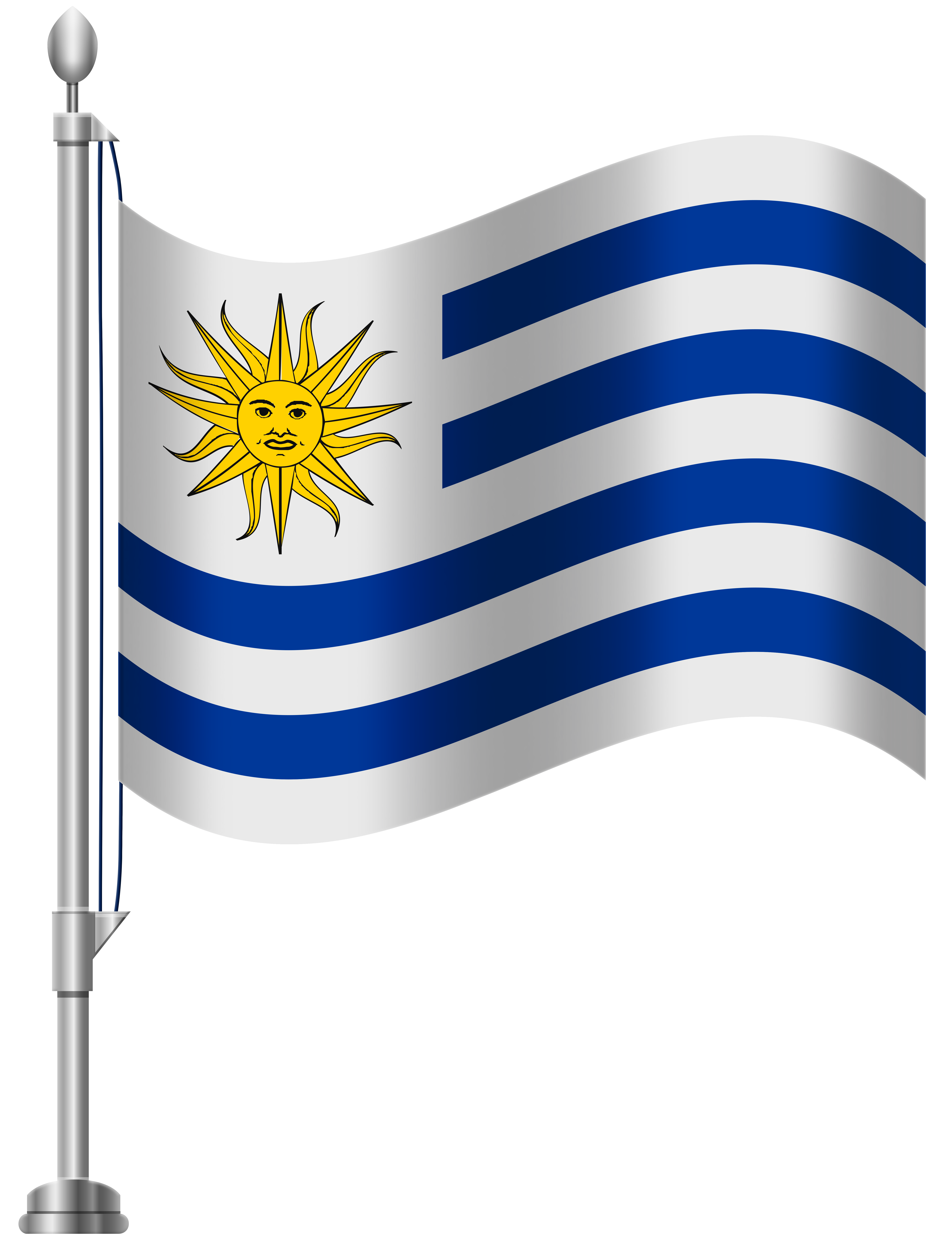 What is the flag of uruguay clipart svg transparent Uruguay Flag PNG Clip Art - Best WEB Clipart svg transparent