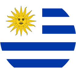 Uruguay images clipart picture Uruguay flag clipart - country flags picture