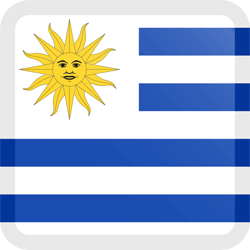 Uruguay images clipart vector black and white download Uruguay flag clipart - country flags vector black and white download