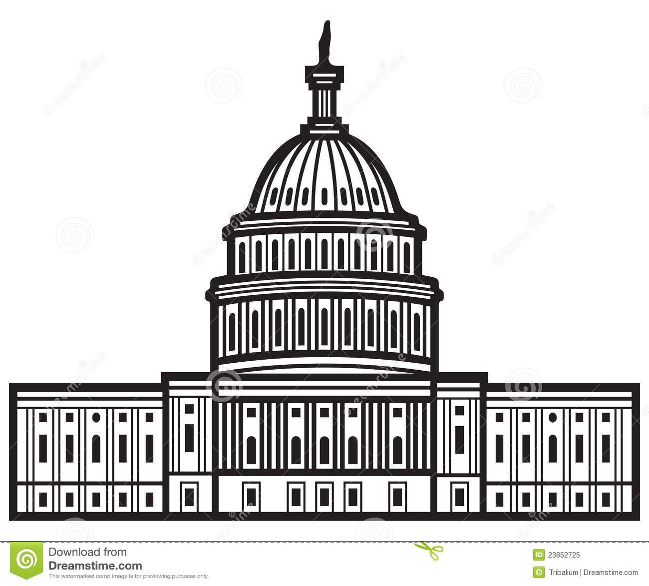 Us capitol clip art png free library Us capitol dome clipart - ClipartFest png free library