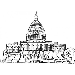 Us capitol clip art banner royalty free stock Capitol building clipart free - ClipartFest banner royalty free stock