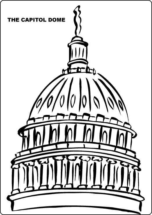 Us capitol clip art graphic free Capitol dome clipart - ClipartFest graphic free