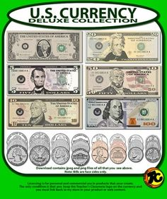 Us currency clipart free jpg black and white Us currency clipart free - ClipartFest jpg black and white