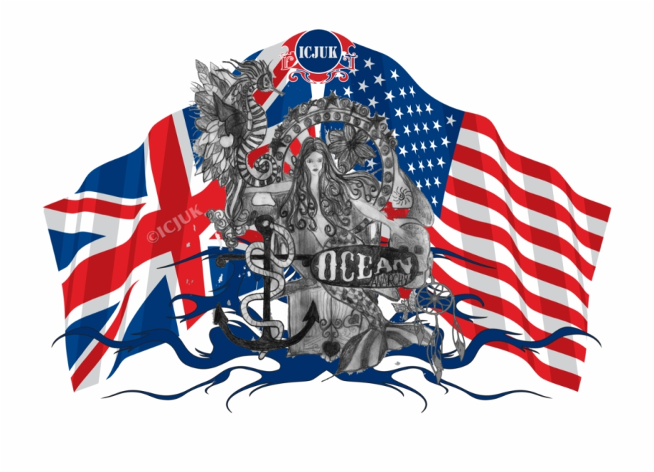 Us flag and ocean clipart jpg black and white stock Original Artwork By Claire Jane Can Not Be Found In ... jpg black and white stock