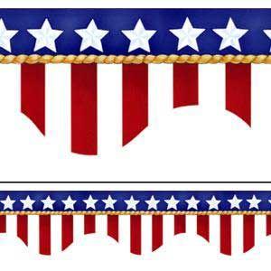 Us flag border clipart svg transparent Corner american flag clipart - ClipartFest svg transparent