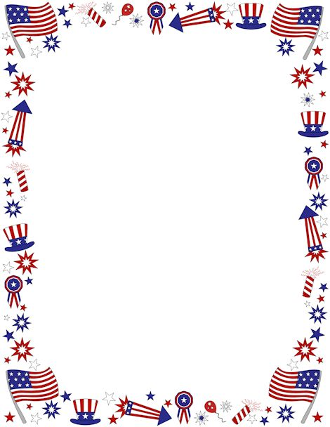 Us flag border clipart clip art library Flag Border Clip Art & Flag Border Clip Art Clip Art Images ... clip art library