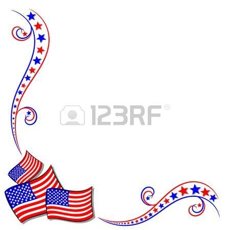 Us flag border clipart clip art freeuse download 18,648 Patriotic Border Stock Vector Illustration And Royalty Free ... clip art freeuse download