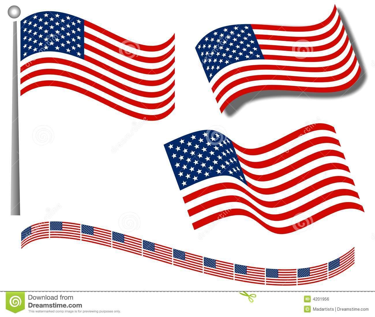 Us flag border clipart banner black and white Free clipart flags border - ClipartFest banner black and white
