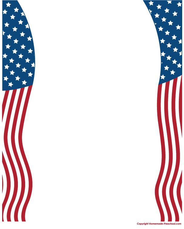 Us flag border clipart svg transparent stock Free American Flags Clipart svg transparent stock