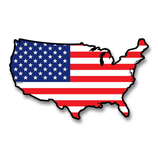 Us flag clip art graphic free download USA Wall Map Art - US Flag Dry-Erase Map | DryMaps graphic free download