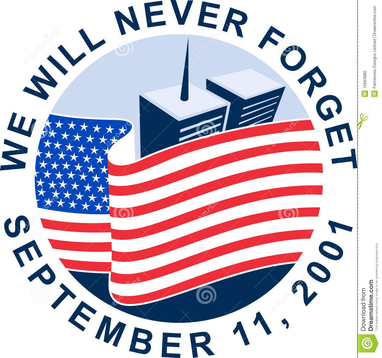 Us flag clipart 911