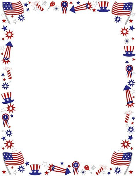 Us flag clipart border picture library library American flag clip art borders - ClipartFest | Fourth of ... picture library library