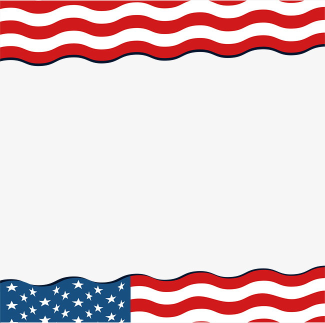 Us flag clipart border svg free American Flag Pictures Free | Free download best American ... svg free