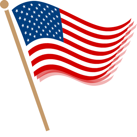 Us flag clipart png picture black and white download American flag clipart no background - ClipartFest picture black and white download