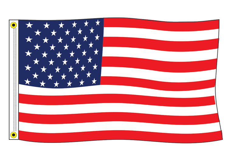 Us flag clipart png png Large American Flag png