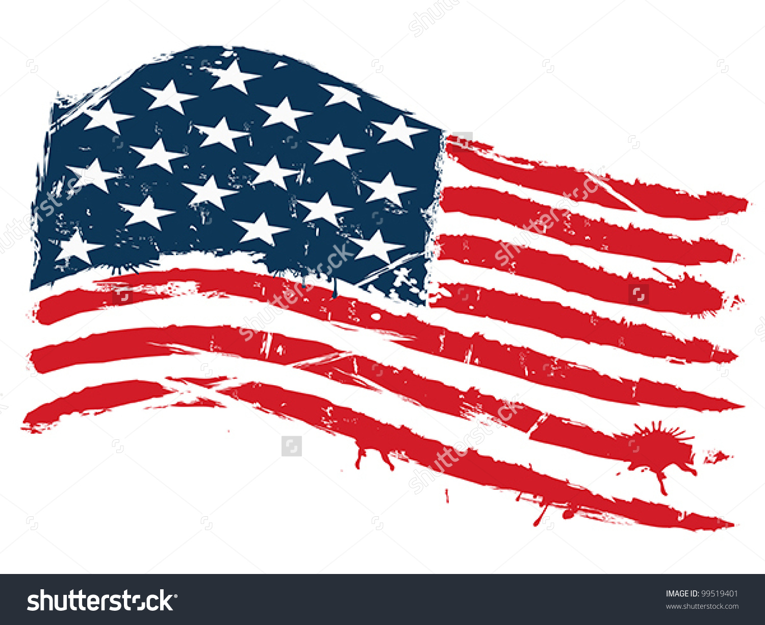Us flag clipart vector png royalty free library Distressed us flag clipart - ClipartFest png royalty free library