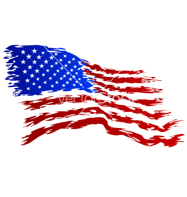 Us flag clipart vector black and white stock Free grunge american flag clipart - ClipartFest black and white stock
