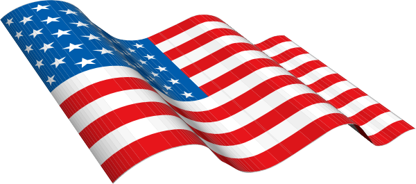 Us flag clipart vector graphic transparent library American Flag Vector Clipart - Clipart Kid graphic transparent library