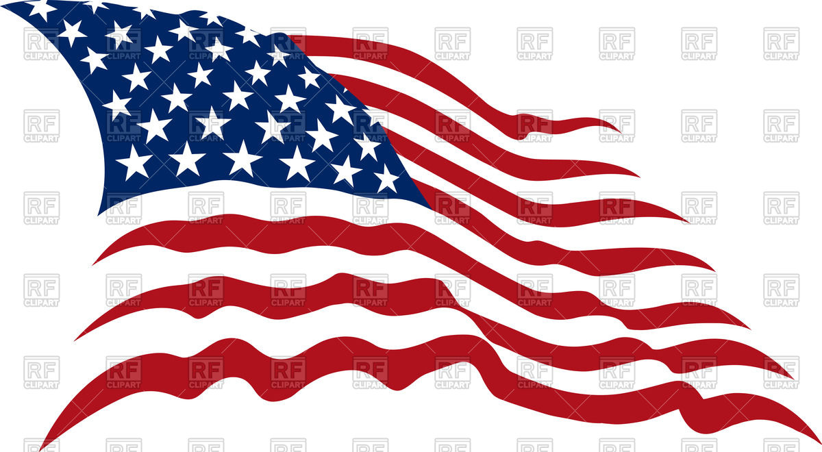 Us flag clipart vector black and white stock American Flag Vector Clipart - Clipart Kid black and white stock