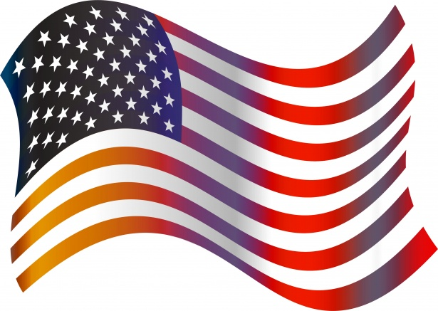 Us flag craft clipart banner stock American flag free clip art from vintage holiday crafts patriotic ... banner stock