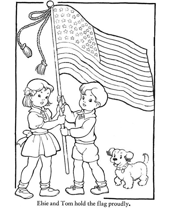 Us flag craft clipart banner transparent download flag day clip art with coloring pages sheets crafts for kids ... banner transparent download