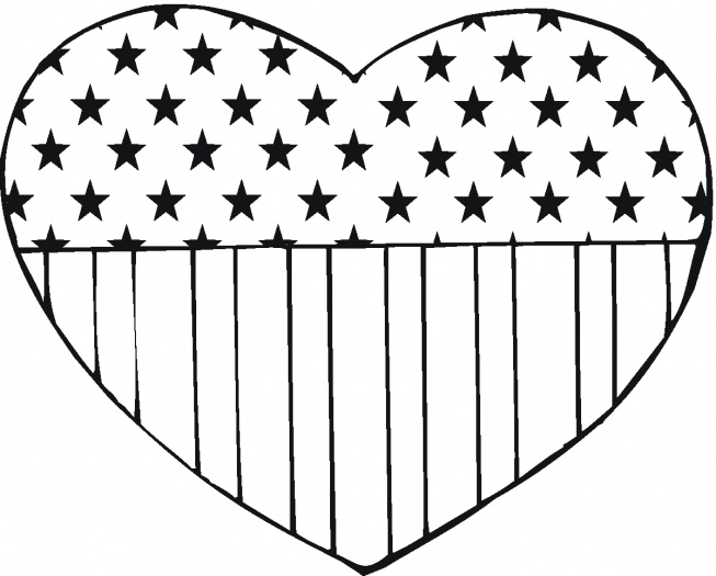 Us flag craft clipart png royalty free USA Flag in heart shape | Crafts | Pinterest | Nice, Colors and ... png royalty free