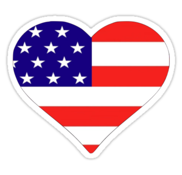 Us flag heart clipart royalty free library American Flag In Heart - ClipArt Best royalty free library