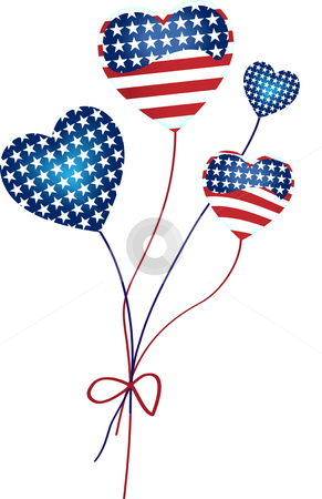 Us flag heart clipart graphic download Us flag heart vector clipart - ClipartFest graphic download