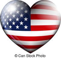 Us flag heart clipart jpg American flag heart Clipart Vector and Illustration. 958 American ... jpg