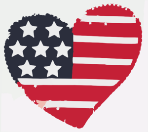 Us flag heart clipart picture stock Us flag heart clipart - ClipartFest picture stock