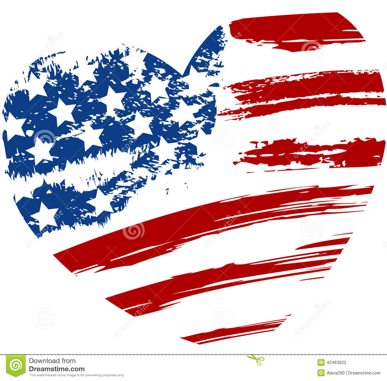 Us flag heart clipart jpg freeuse download Usa shaped american flag clipart - ClipartFest jpg freeuse download