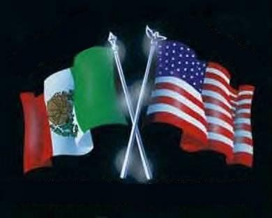 Us flag mexian flag clipart freeuse download Flying Mexican flag above American flag | Why do you think ... freeuse download