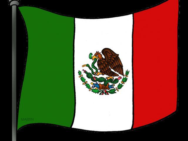 Us flag mexian flag clipart image transparent stock Mexico Flag Clip Art & Mexico Flag Clip Art Clip Art Images ... image transparent stock