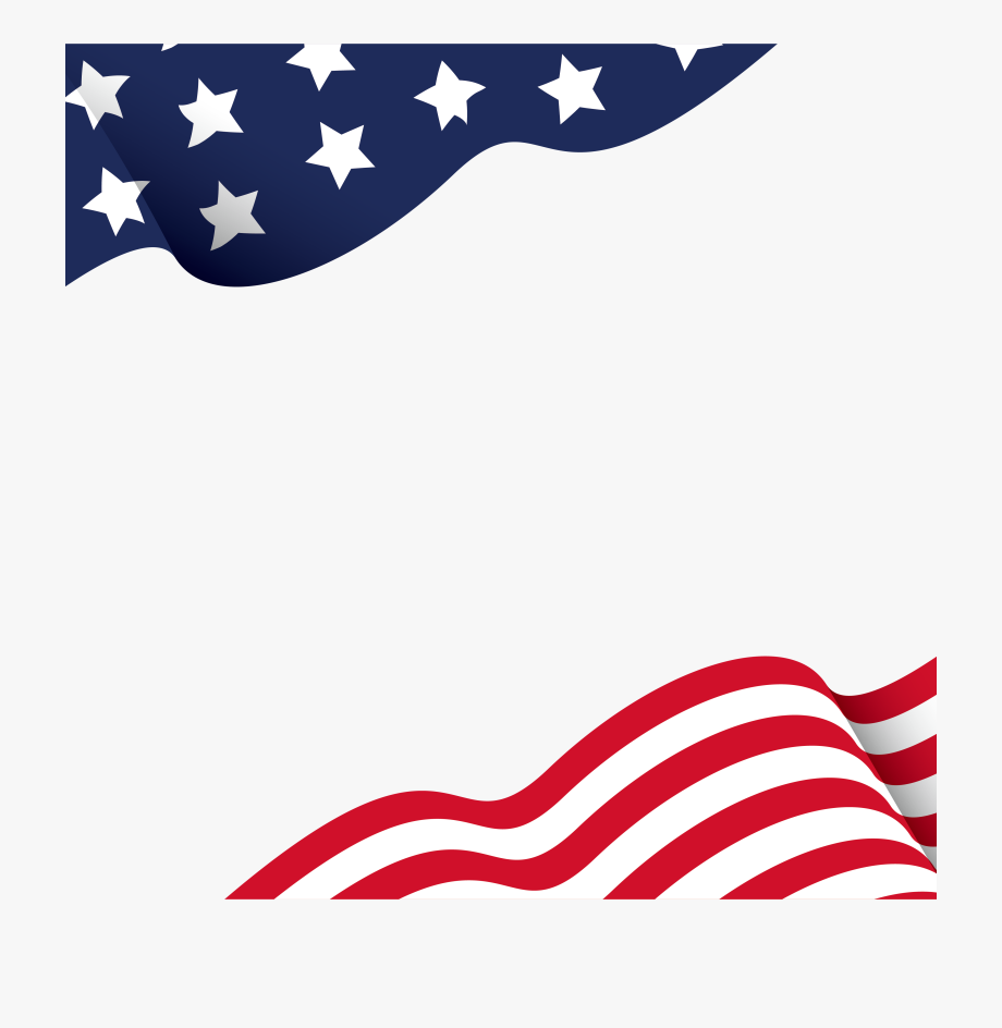 Us flag page clipart border graphic royalty free download American Flag Border Png - Vector American Flag Border ... graphic royalty free download